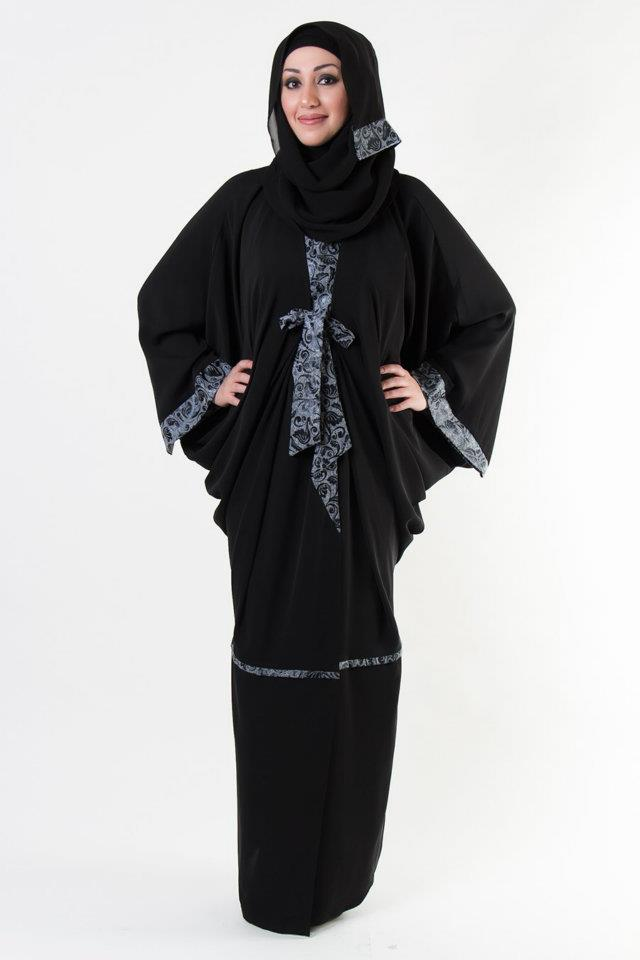 New Abaya Styles 2013