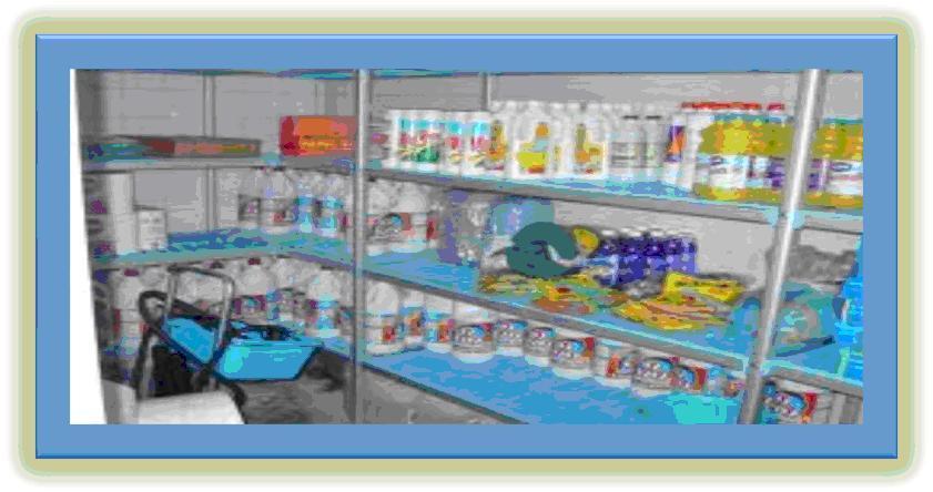 Cuarto de Limpieza y Depósito de Articulo de Aseo ~ Enfermeria