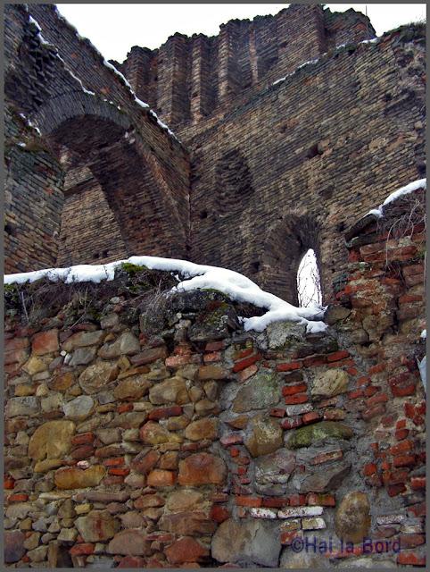 ruine cetate slimnic iarna