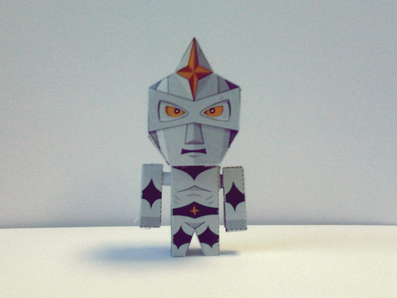 Mirrorman Papercraft