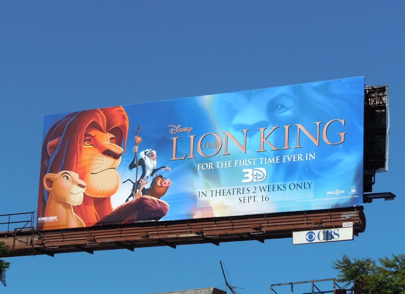 Disney Lion King billboard