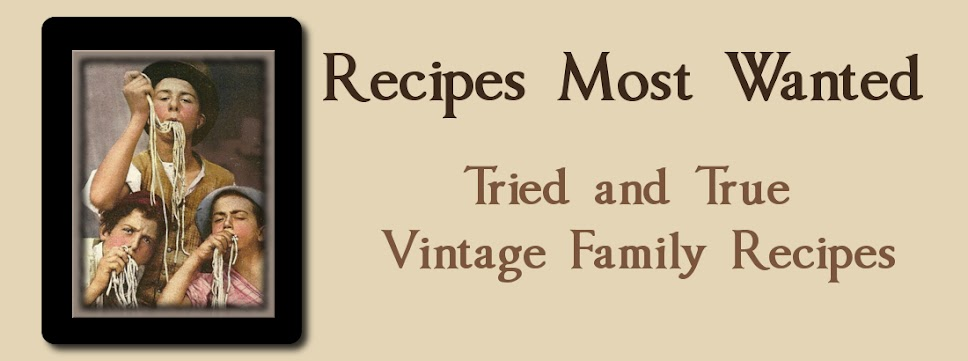 Recipes Most Wanted
