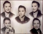 Carlos Giménez en su infancia cordobesa.