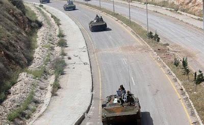 la proxima guerra siria despliega tanques frontera con turquia