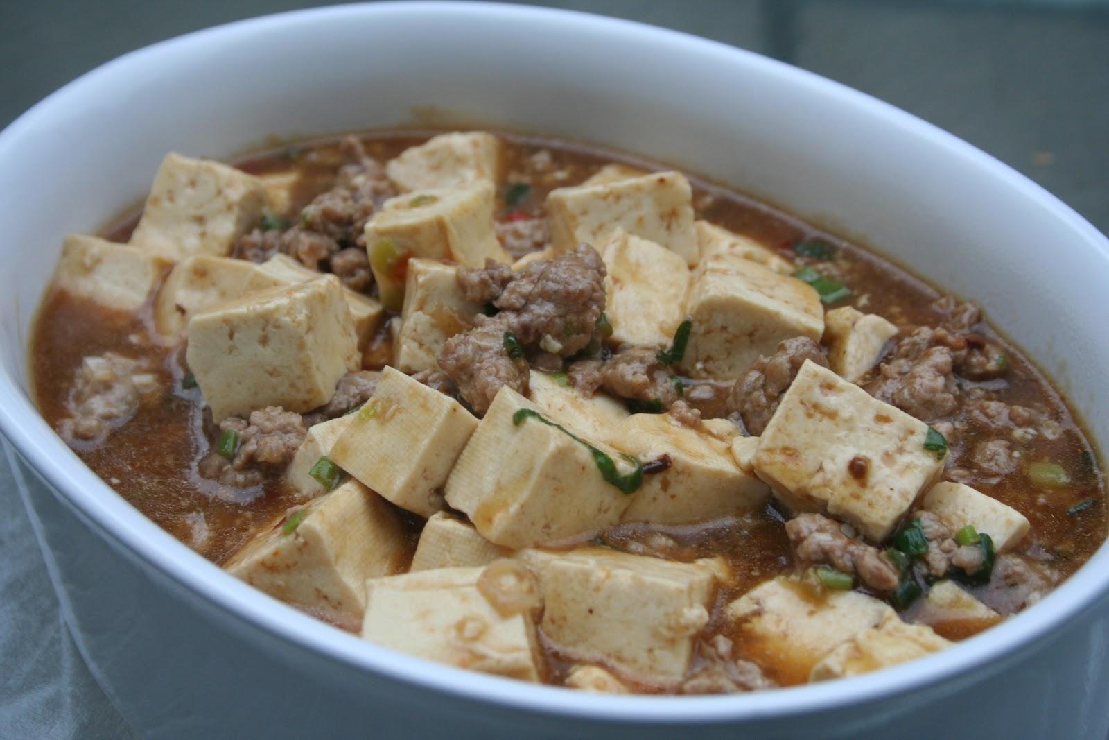Chinese Ma Pu Tofu Recipe — Dishmaps