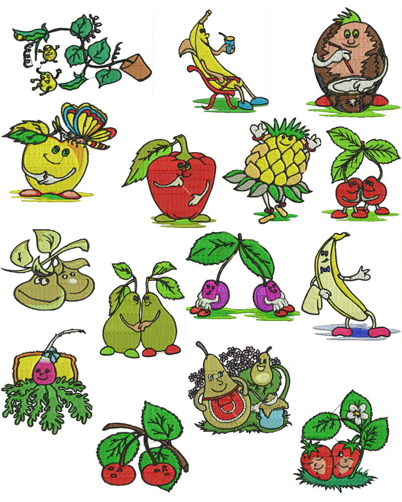 Fantasticpicture: Fruit Cartoon Pictures for Kids