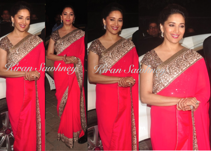 Madhuri Dixit At Hinduja Bash