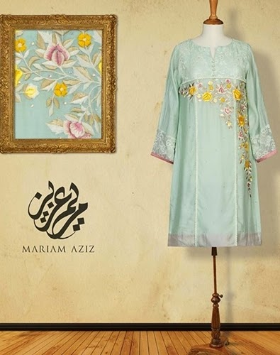 Mariam-Aziz Designer Winter Collection 2014-2015