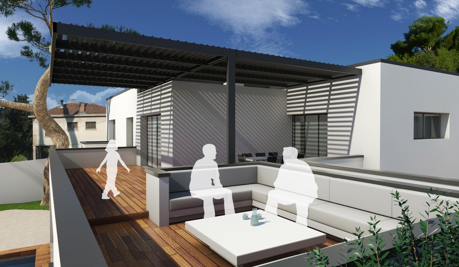 Designer d 39 espace graphiste 3d architectural villa for Espace 3 architecture