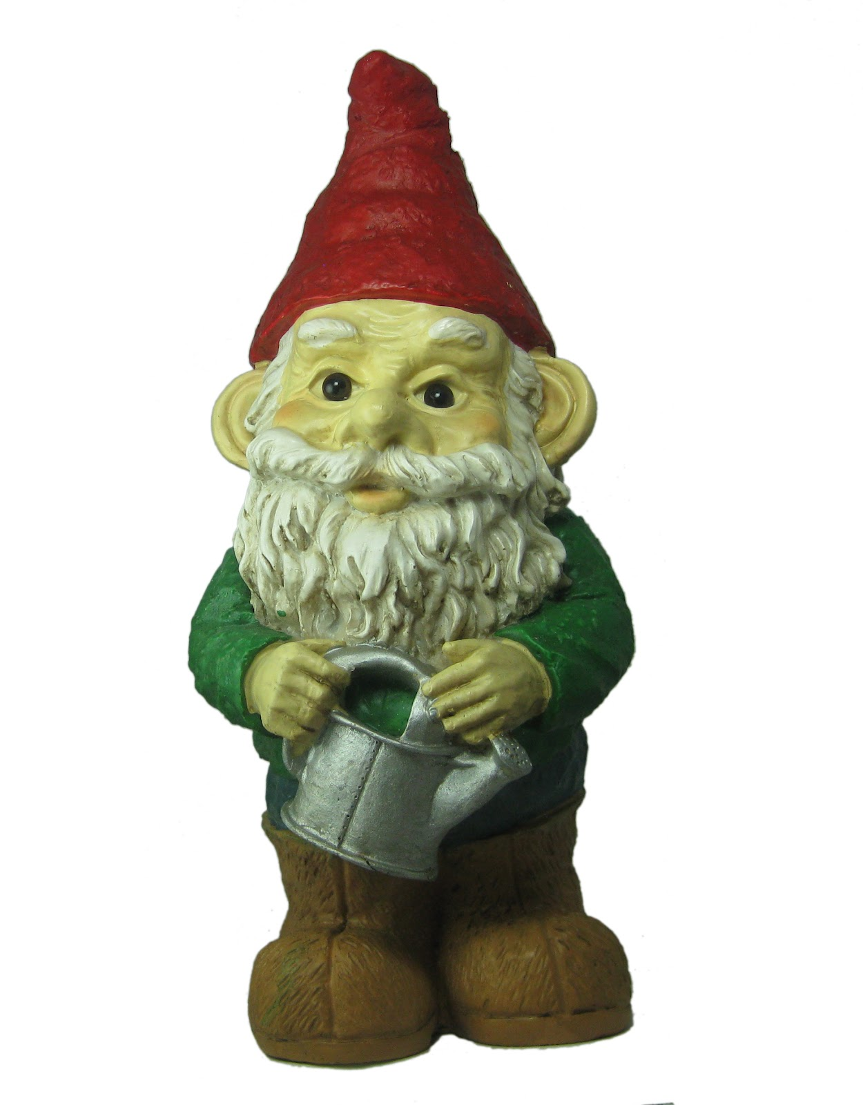 so garden gnomes are hot right now you know these guys that you place
