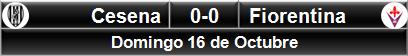 Cesena 0-0 Fiorentina