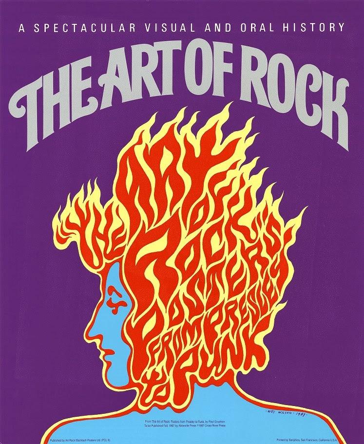 Color circular paleta de color del cartel the art of the rock for Simultaneo contemporaneo