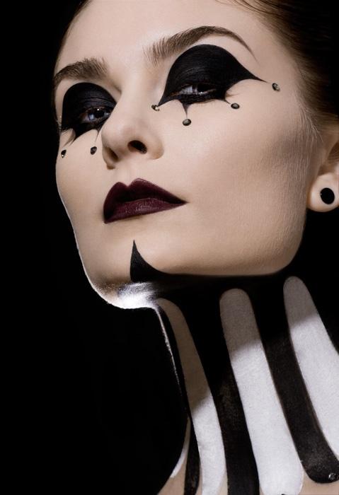 maquillaje para domadora de circo