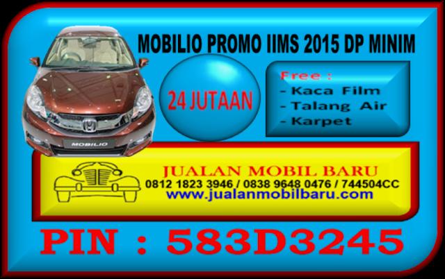 PROMO HONDA MOBILIO IIMS - GIIAS 2015 DP MINIM