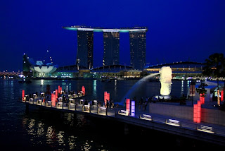 marina bay sand, holiday in Singapore