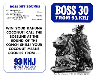 KHJ Boss 30 No. 48 - The Big Kahuna with El Monte Lion