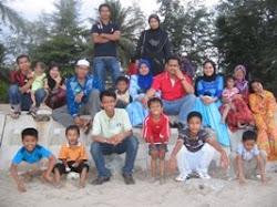 half of my famili