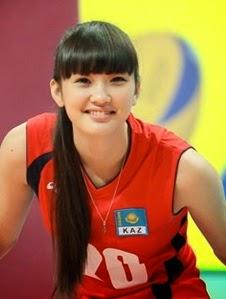 Profil dan Biografi Sabina Altynbekova  - Atlet Voli Cantik