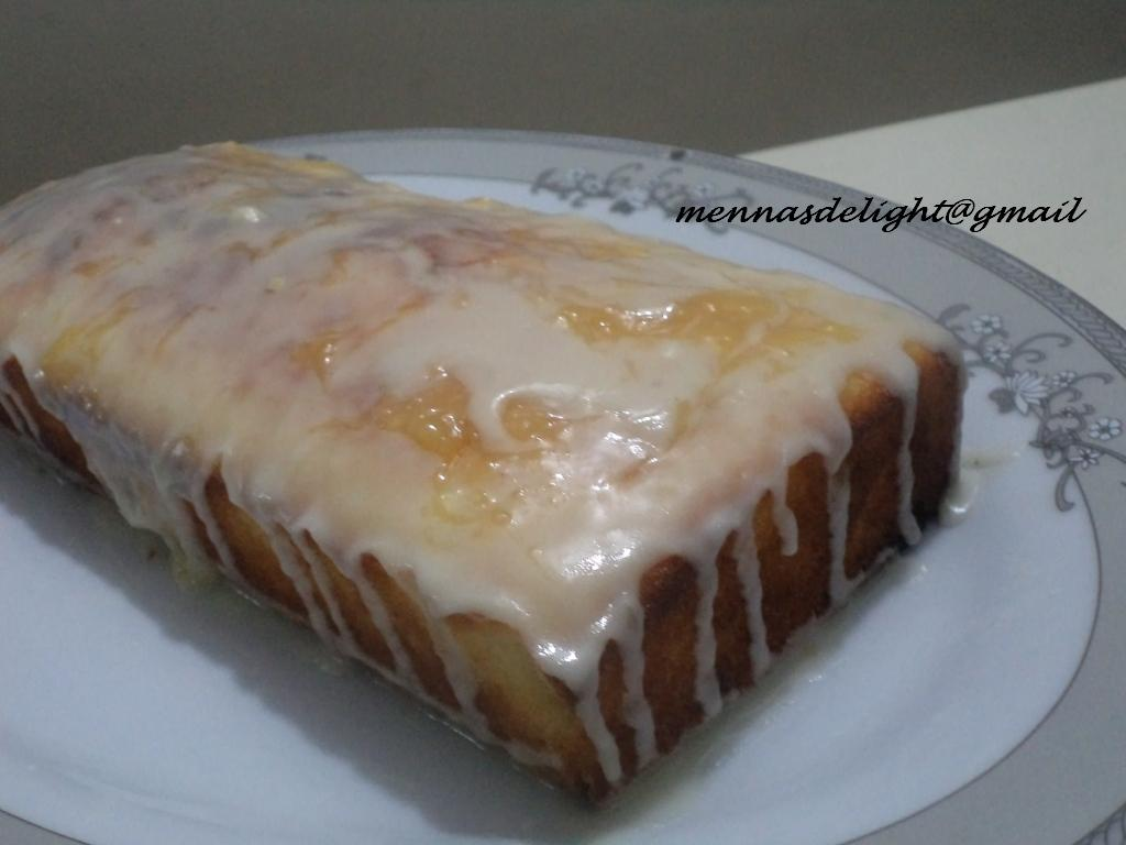 Iced Madeira Cake Recipe