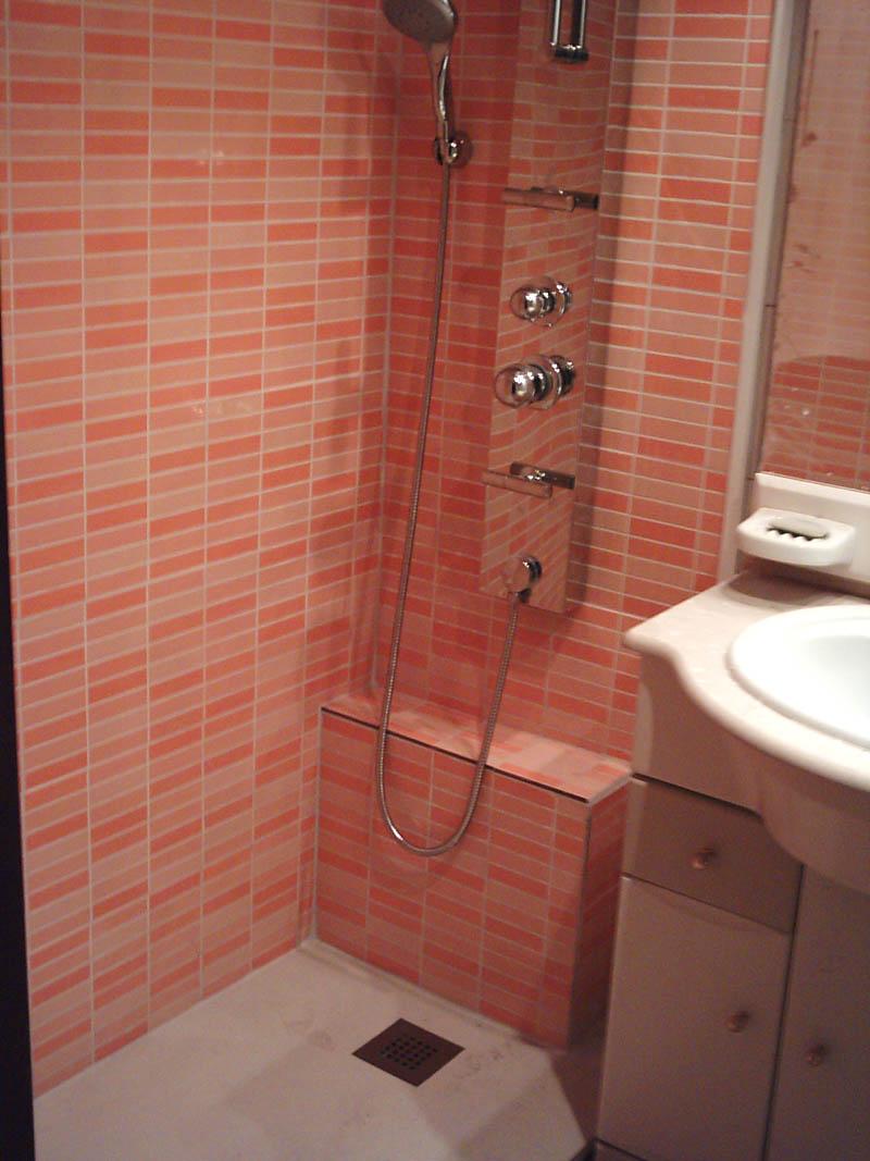 Cambio de ba era por ducha hidromasaje m p instalaciones for Ducha antideslizante