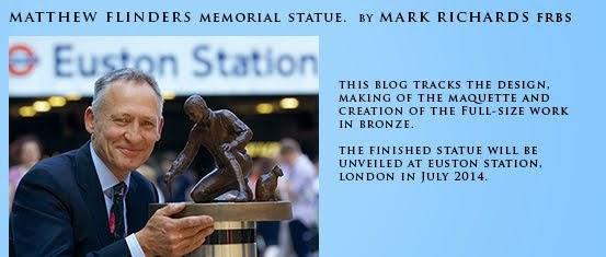 Matthew Flinders memorial statue