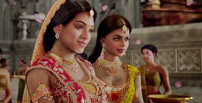 Deepika Padukone as Princess Vadhana