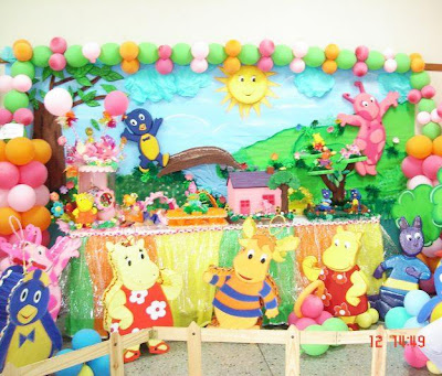 Decoraci Fiestas Infantiles Backyardigans Bebes Embarazo