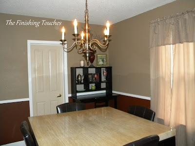 dining room, makeover