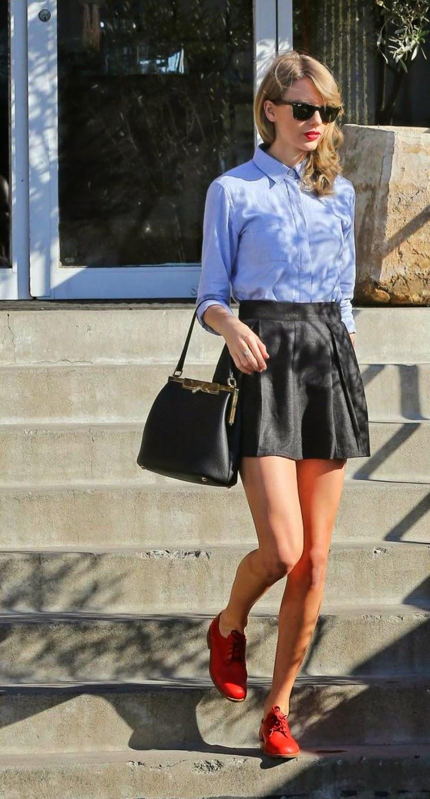 Diferentes estilos de faldas lady