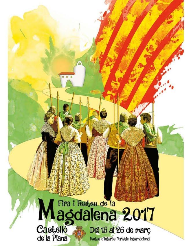 Cartel Fiestas Magdalena 2017