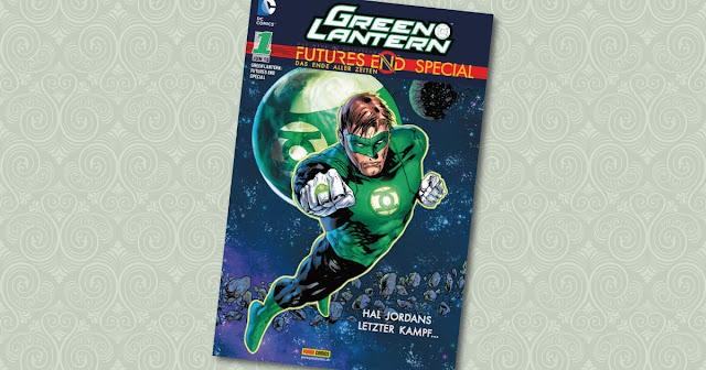 Green Lantern Futures End Special 1 Panini Cover