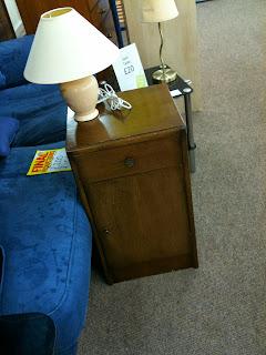 Vintage bedside cabinet, vintage nightstand