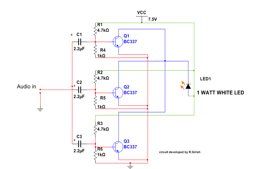1 watt amplifier schematic  1  get free image about wiring