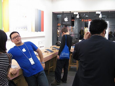 Fake Apple Store In China Seen On www.coolpicturegallery.us