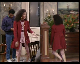 Cosby Show Huxtable fashion blog 80s sitcom Sondra Sabrina Le Beauf