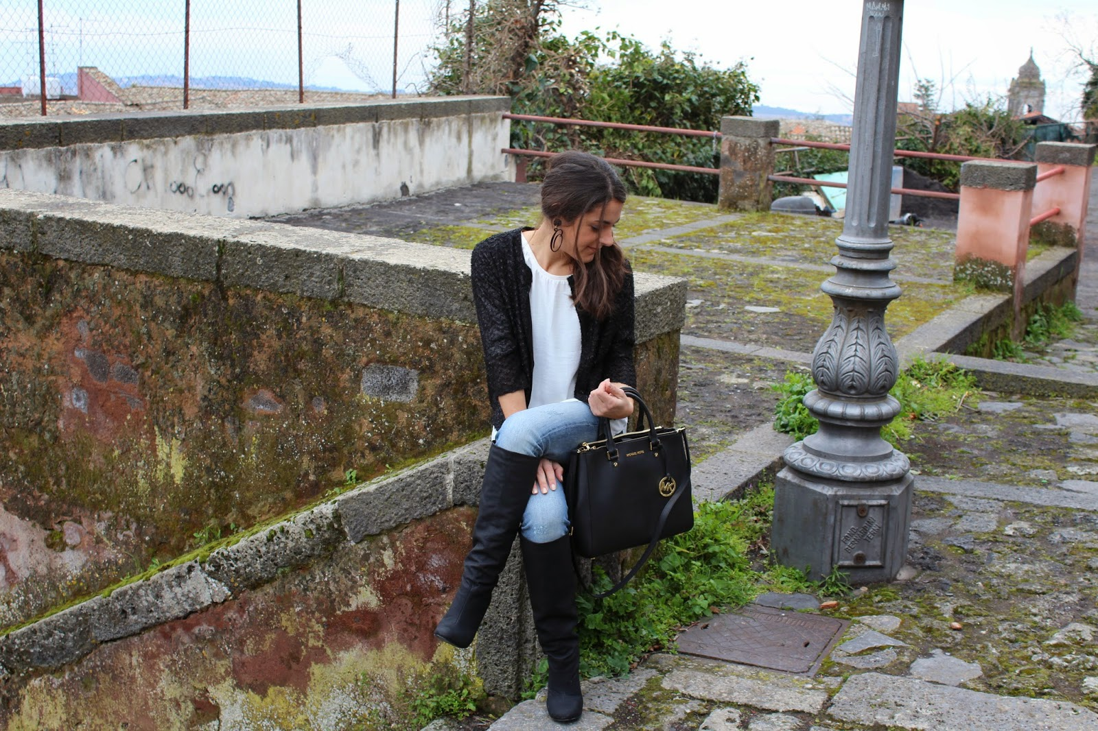 blogger, outfit, michael kors