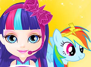 Baby Barbie Little Pony