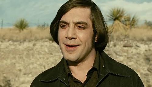 Javier Bardem em cena do filme Onde os Fracos Não Tem, de Joel e Ethan Coen