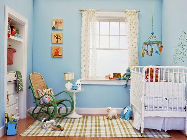 Decorar cuartos de beb s color celeste dormitorios - Colores para habitacion de nino ...