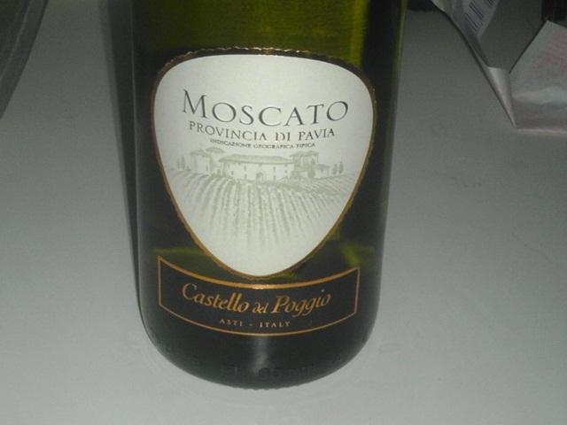 The winos 39 wine guide castello dell poggio moscato for Castello del poggio moscato olive garden