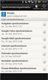sync android 42 gmail