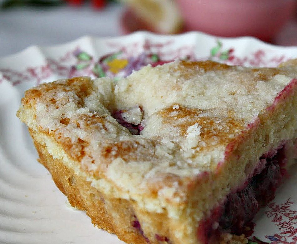 Cranberry cream cheese cake recipe
