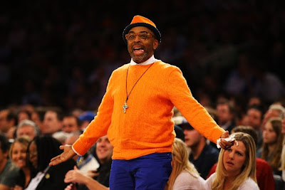 Spike Lee Knicks outfit