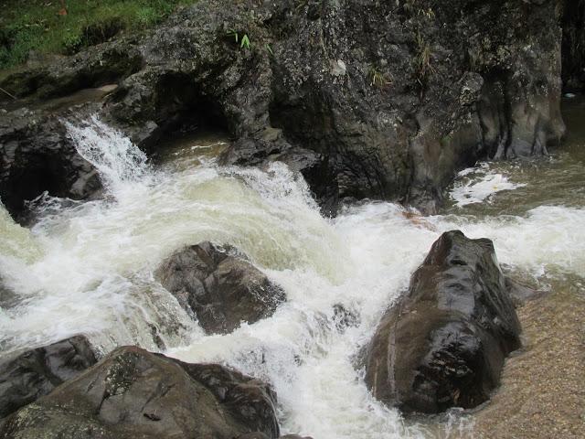Vietnam countryside Sa Pa rapids waterfall hiking