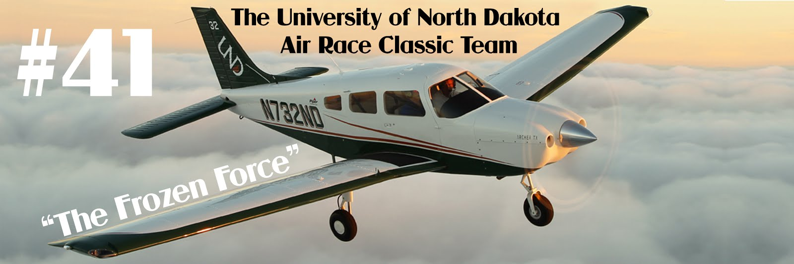 The University of North Dakota Air Race Classic Team