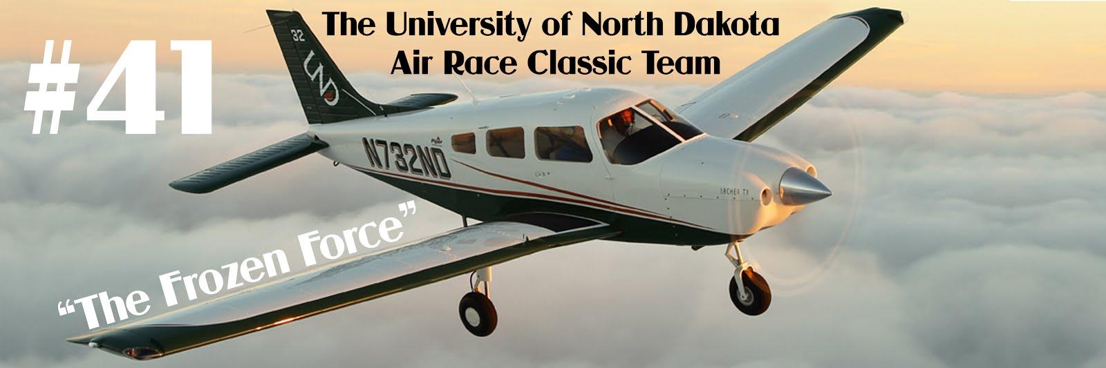 The University of North Dakota Air Race Classic Team
