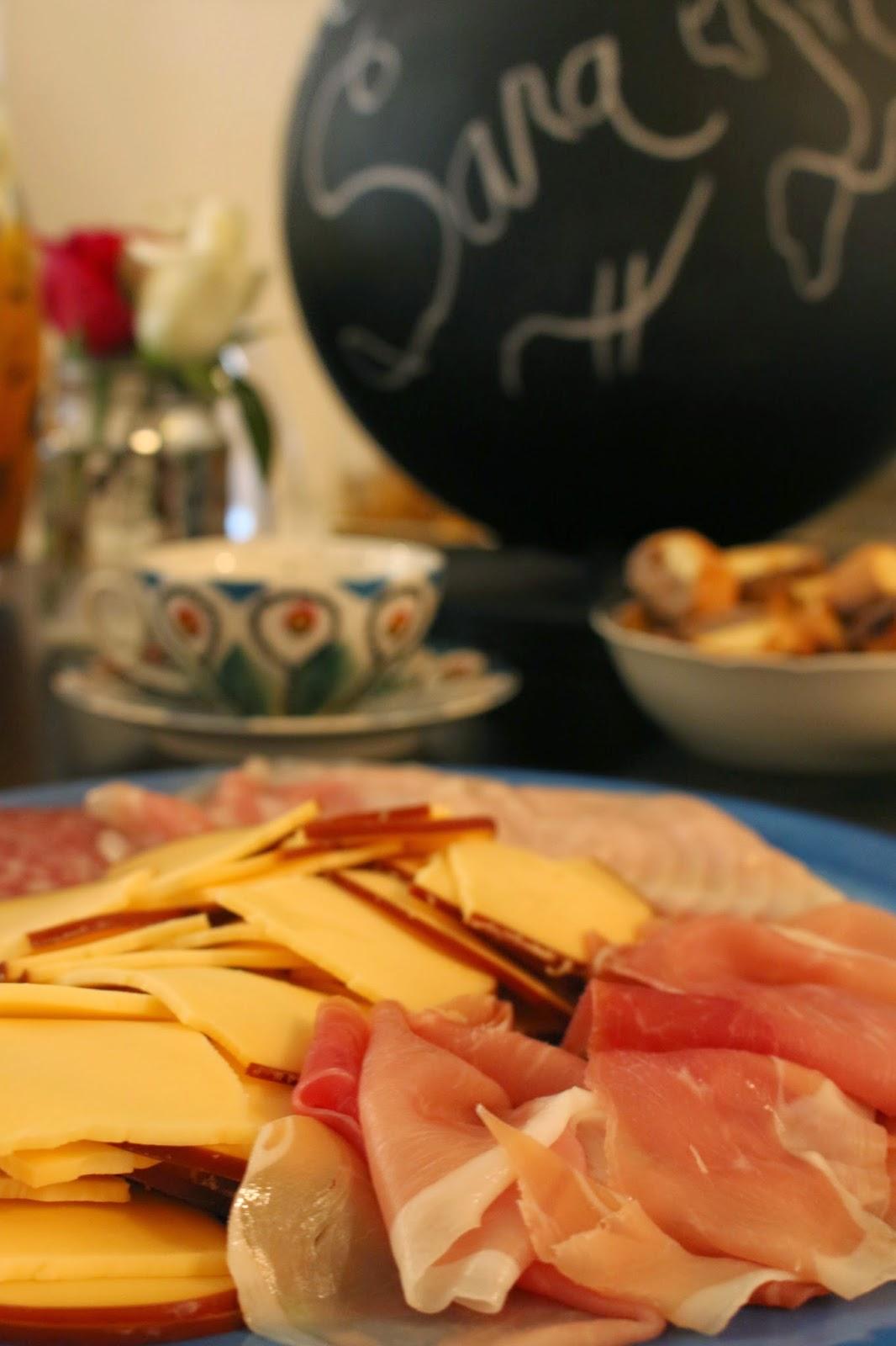 Arrivederci Tea Party and a Recipe for Peach Basil Sangria