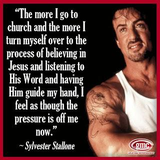 AmazingPraising.com, Testimony, Sylvester Stallone, Jesus Christ, Savior, Sharing, Doug Gazlay, help, salvation