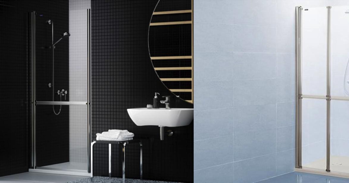 Caracteristicas Baño Adaptado:Mamparas DUSCHOLUX: Un baño adaptado en el hogar