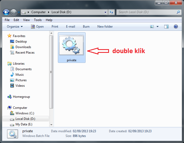Cara Membuat Folder Rahasia di Windows